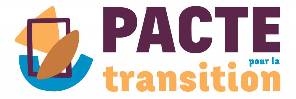 Logo pacte pour la transition